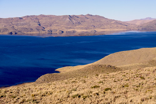 PUNO, PERU: Landscape of the altiplano.