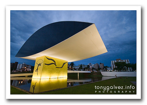 Museu Niemeyer, Curitiba