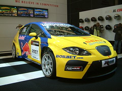 ford focus rs wrc(0.0), touring car(0.0), sedan(0.0), race track(0.0), supercar(0.0), race car(1.0), auto racing(1.0), automobile(1.0), racing(1.0), vehicle(1.0), automotive design(1.0), rallycross(1.0), auto show(1.0), world rally car(1.0), seat leã³n(1.0), land vehicle(1.0), luxury vehicle(1.0), sports car(1.0),