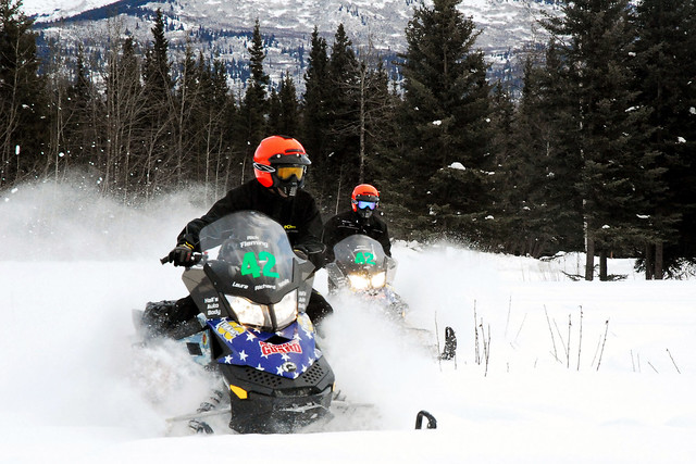 alaska national guard iron dog snowmobile race camp denali alaska flickr photo sharing. Black Bedroom Furniture Sets. Home Design Ideas