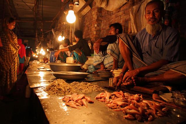 Local fish market dhaka bangladesh the 4th of 365 as for Local fish market