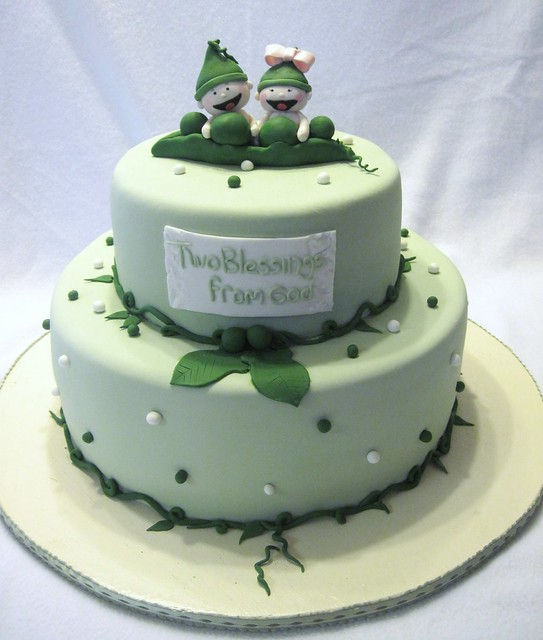 two peas in a pod cakes