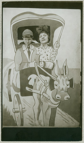 Novelty Photobooth - Mule and wagon