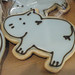Hippo Cookie Favor - <span>www.cupcakebite.com</span>
