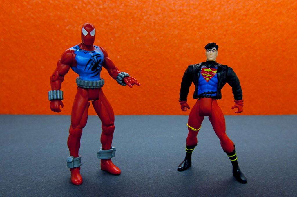 Scarlet Spider vs. Superboy (60/365)