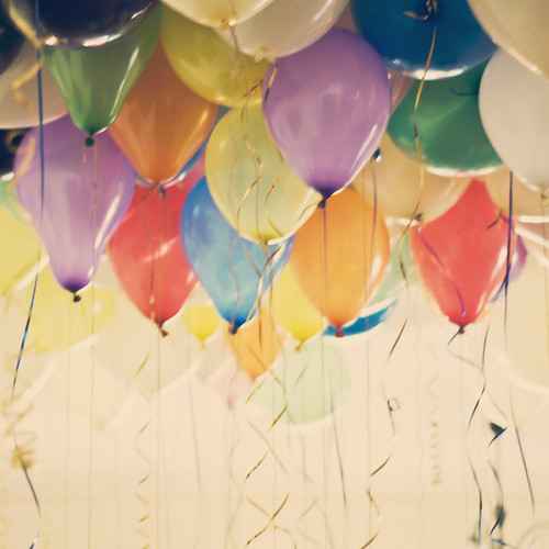 99 colourful balloons by aimeeclaire