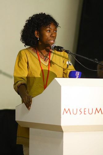 Annabell Lebethe, IFACCA Board Member and Chief Executive Officer of the National Arts Council of South Africa, co-hosts of the 4th World Summit on Arts and Culture