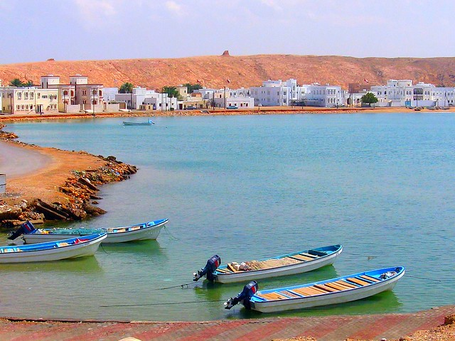 Fishing Boats of Sur
