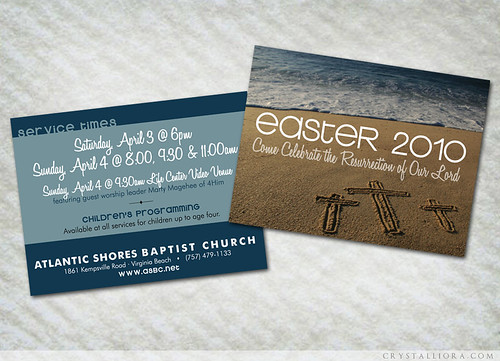 Easter 2010 invitation