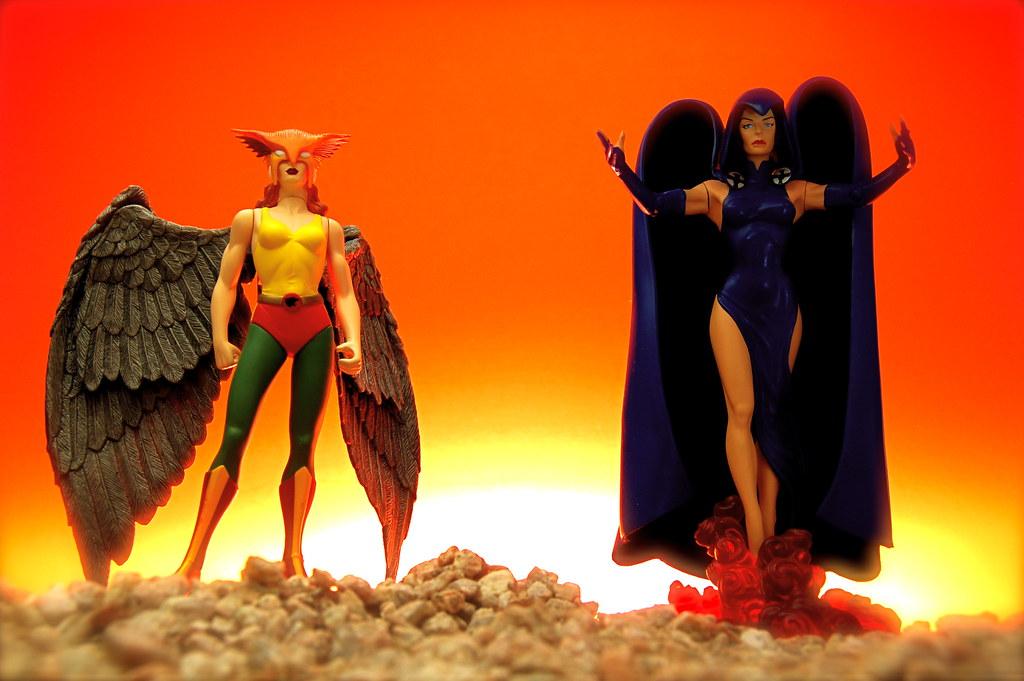 Hawkgirl vs. Raven (67/365)