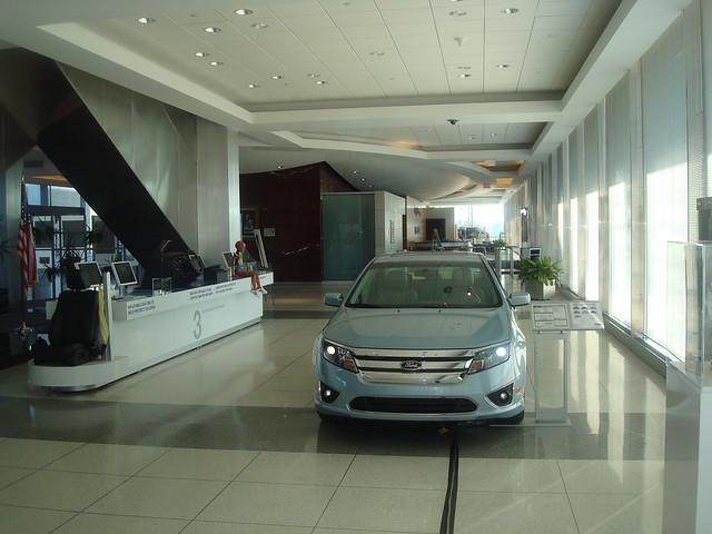 Ford motor company world headquarters lobby explore for Ford motor company headquarters