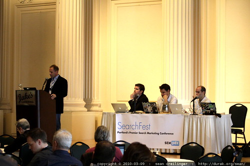 michael dorausch and the twitter discussion panel