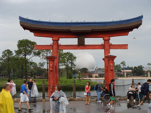 Spaceship Earth from China in Epcot