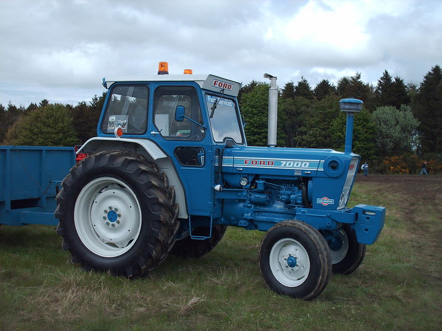 Ford 7000 Tractor : Ford etc a gallery on flickr