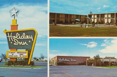 The Cardboard America Motel Archive Holiday Inn Fort Stockton Texas