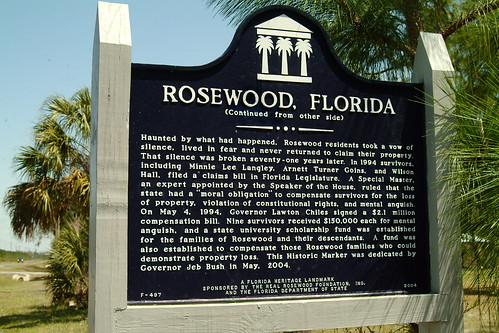 rosewood fl florida ghosttown history massacre africanamerican negro racism kukluxklan historical marker wright merchant canon nikon fuji mikewoodfin cr24 levycounty picture photo photograph landscape oldhouse photography