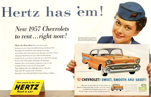 1956 ... rent a 1957 Chevy!