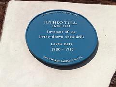 Photo of Jethro Tull blue plaque