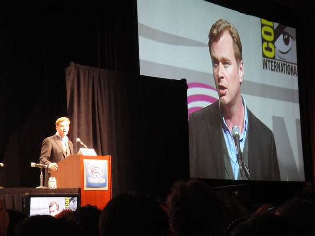 Inception panel - Christopher Nolan