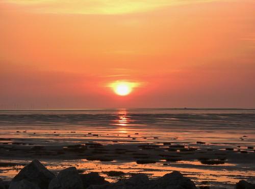 Sunset On Beach 10