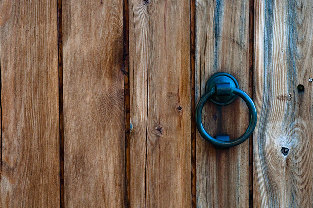 Photo:Knock Knock... By:-jell-