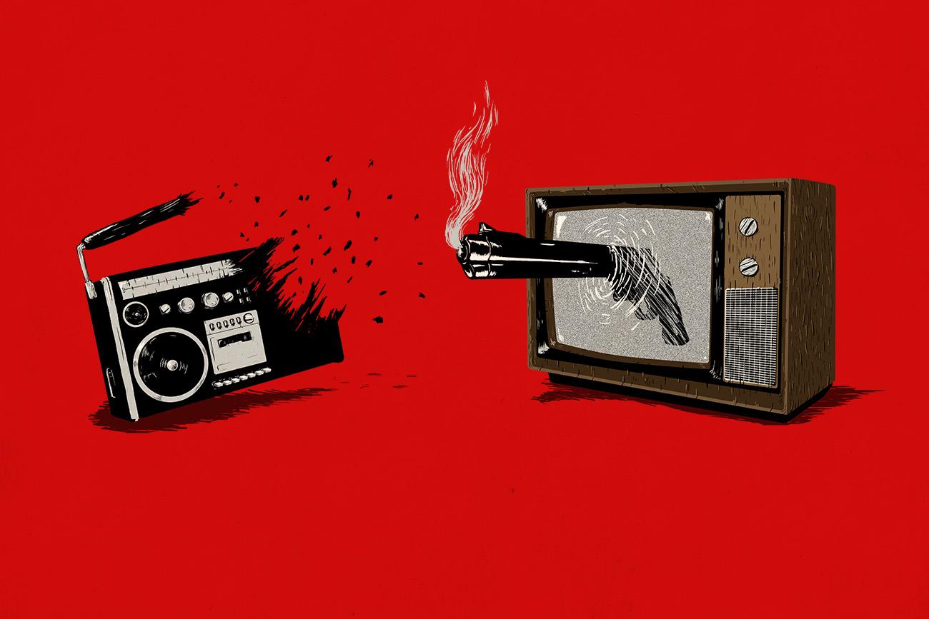 Video killed the radio (stars)