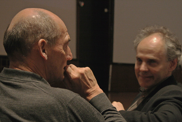 Koolhaas with AAP dean Kent Kleinman