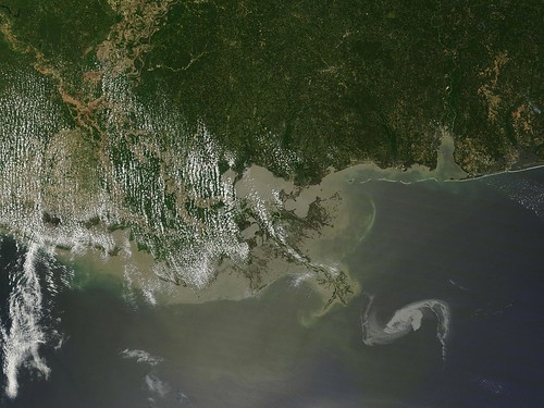 Oil Spill in Gulf of Mexico April 29th View