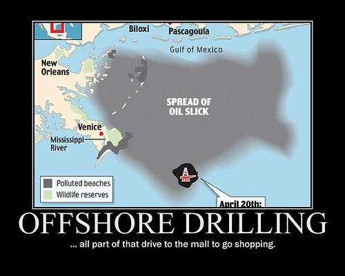 d BP oil leaking