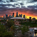 minneapolis, mn minnesota downtown sunset by Dan Anderson.