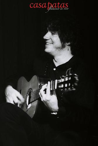 El guitarrista Jorge Rodríguez. Foto: Martín Guerrero