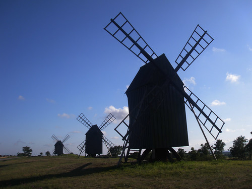Windmills of my mind...