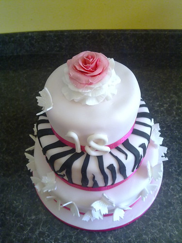 Girly 18th Birthday Cake 18th Birthday Cake For A