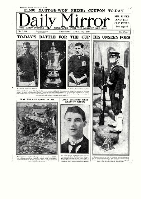 23/04/1927 Daily Mirror Front Page | Flickr - Photo Sharing!