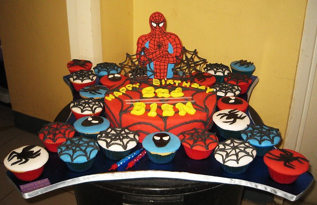 Spiderman cupcake cake walmart - photo#4