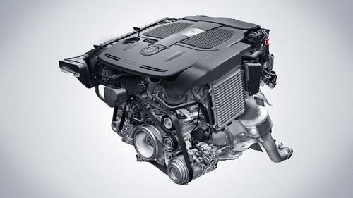 New Mercedes engines: 4.6-liter V8 biturbo and 3.5-liter V6