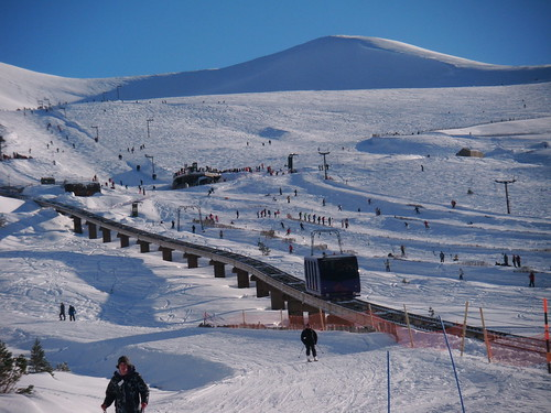 skiing in cairngorm