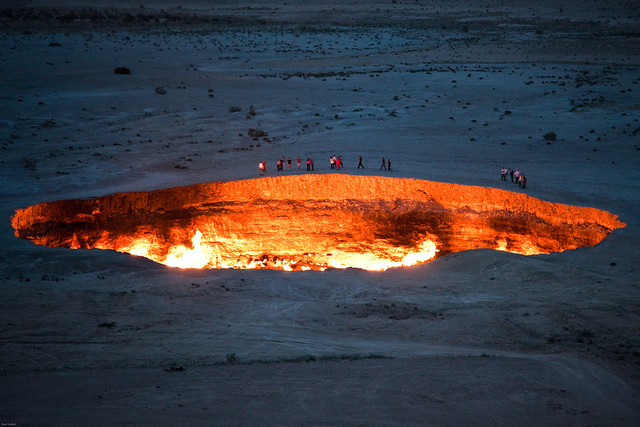 """Door to Hell"" -- The Darvaza Gas Crater"