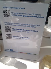 These QR codes are for @gruber :)