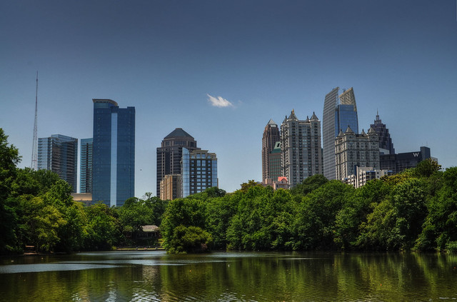 Atlanta view by CC user downeym on Flickr