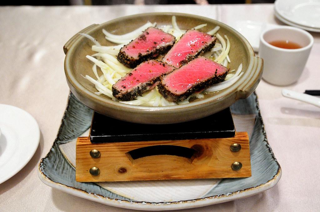 大鵬灣食堂-蘑菇黑鮪松阪
