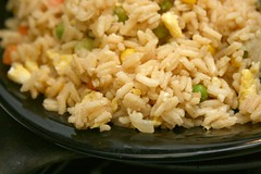 produce(0.0), steamed rice(1.0), thai fried rice(1.0), food grain(1.0), yeung chow fried rice(1.0), rice(1.0), food(1.0), pilaf(1.0), dish(1.0), fried rice(1.0), cuisine(1.0),