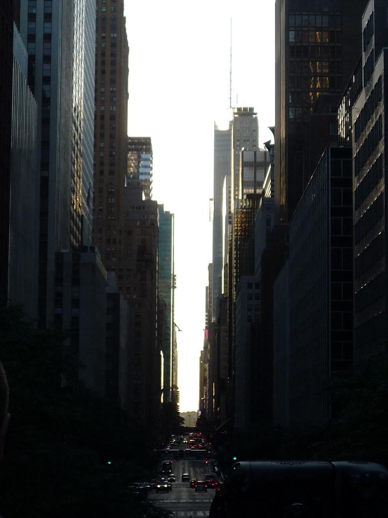 Manhattanhenge 5/30/10