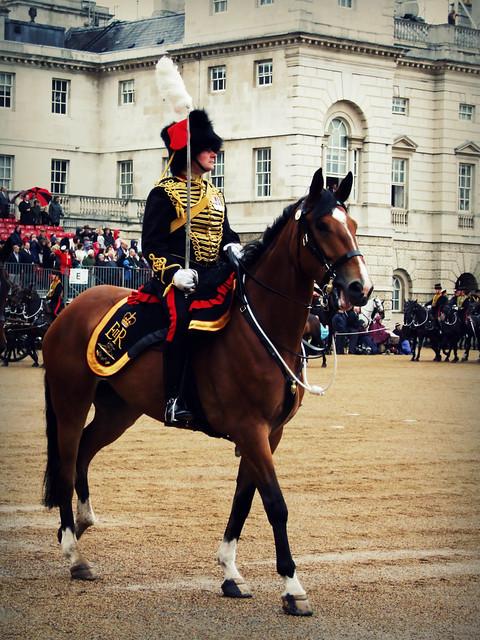 Kings Troop Officer