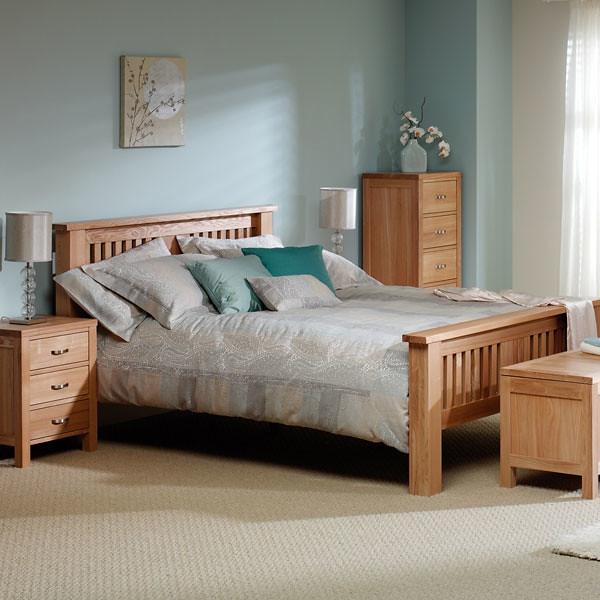 Solid ash bedroom furniture