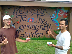 welcome to community garden
