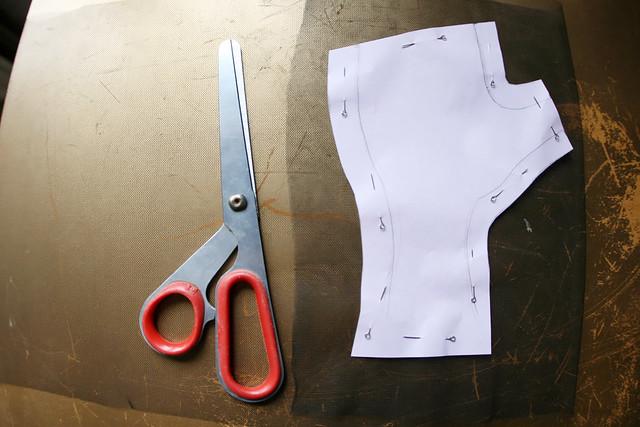 Как сшить перчатки митенки