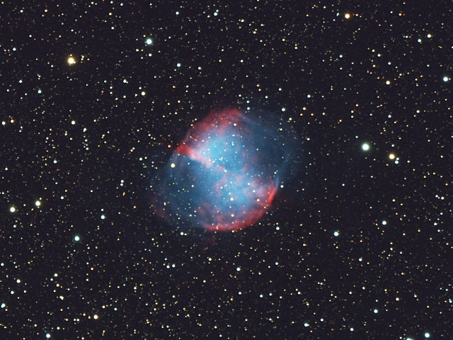 dumbbell nebula colors - photo #39