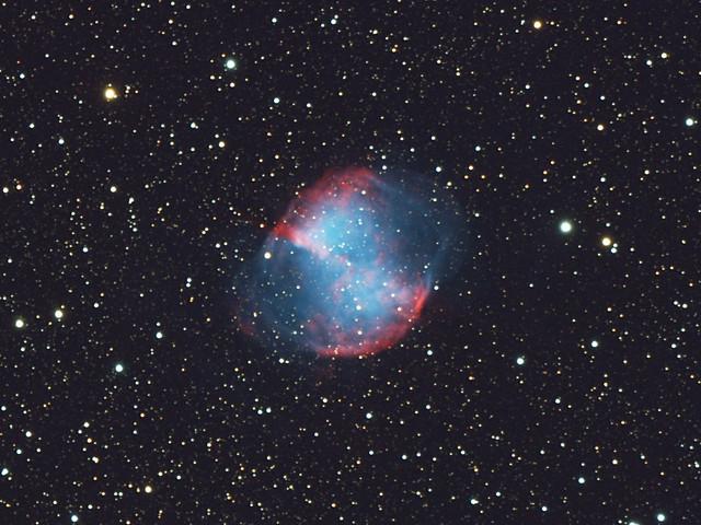 dumbbell nebula colors - photo #39