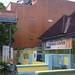 Rumah yang menjadi kantor. : Housing is too close to new offices. Photo by Aditya
